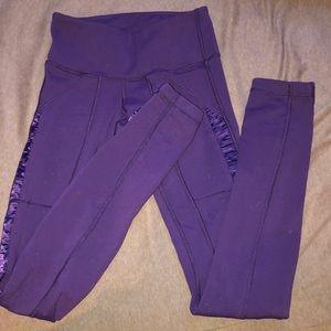 Purple lululemon leggings!!